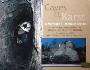Cover of Caves & Karst In Manitoba's Interlake Region - 2nd Edition
